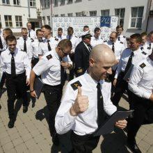 Lietuvos aukštosios jūreivystės mokyklos absolventai – jau diplomuoti