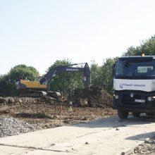 Uostamiestyje – ilgai lauktas mokyklos statybų darbų startas
