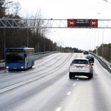 Pokyčiai Klaipėdoje: P. Lideikio gatve leis važiuoti greičiau