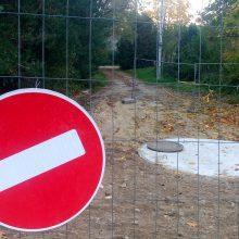 Klaipėdos rajone vietoj vandentiekio – išraustos sodų gatvės
