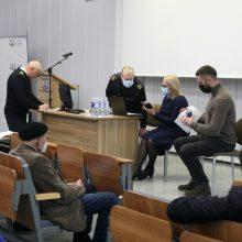 Klaipėdoje Seimo narių buvo prašoma vykdyti rinkėjų valią