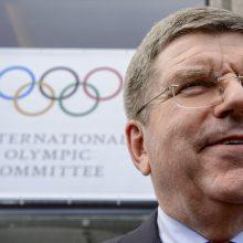 Olimpinių žaidynių antrąkart neatidės