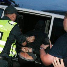 Vilniuje du neblaivūs jaunuoliai pasipriešino ir sužalojo policininkus