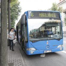 Į uostamiesčio autobusą – ir gyvūnai, ir paspirtukai