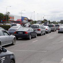 Klaipėdos gatvėse ieškos būdų mažinti spūstis