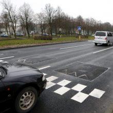 Dilema dėl eismo: Baltijos prospektu – 70 km/val. greičiu?