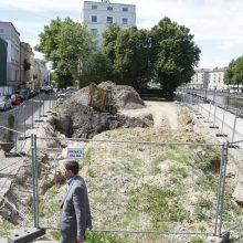 Dėl statybų Klaipėdos senamiesčio širdyje – prieštaros