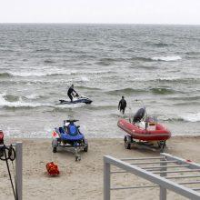 Klaipėdos paplūdimių gelbėtojams – nauja įranga