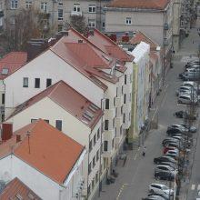 Stogo remonto padariniai: ar todėl prakiuro savivaldybės salės lubos?
