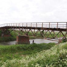 Atgims istorinis tiltas Klaipėdos rajone