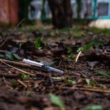 Nesibaigiantys klaipėdiečių skundai: buvusiame darželyje – benamiai ir narkomanai