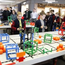 Robotų varžybose Klaipėdoje – moksleivių kova dėl titulų
