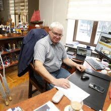 Po mėnesio gydymosi Klaipėdos meras grįžo į darbą