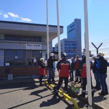 Granulių gamykloje Klaipėdoje – sprogimas: buvo evakuoti darbuotojai