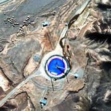 Irano kosminiame centre sudegė paleisti planuota raketa?