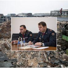 Atmestas prašymas prokurorui grąžinti Alytaus priešgaisrinės tarnybos pareigūnų bylą