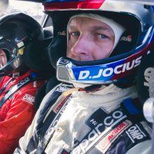 D. Jocius startuos Pasaulio ralio čempionate su WRC bolidu