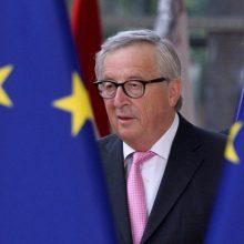"""J. C. Junckeris: bus itin komplikuota, jei parlamentas atmes """"Brexit"""" susitarimą"""