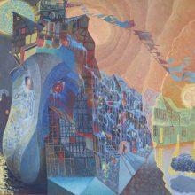 P. Domšaičio galerijoje – J. Vosyliaus tapyba
