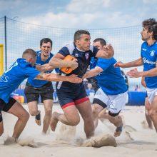 Klaipėdoje vyks 23-asis paplūdimio regbio čempionatas