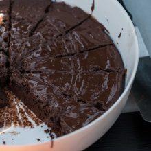 Tokio pyrago dar neragavote: išbandykite šokoladinį pyragą su majonezu