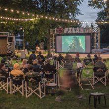 Palangos kultūros pievoje – delikatesiniai kino seansai