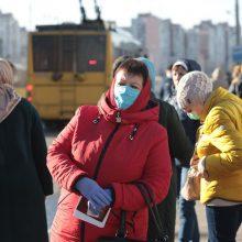Ukrainoje užfiksuoti 406 nauji COVID-19 atvejai, 12 mirties atvejų