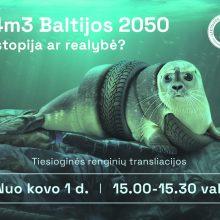 Moksleiviai ieško būdų išsaugoti Baltijos jūrą
