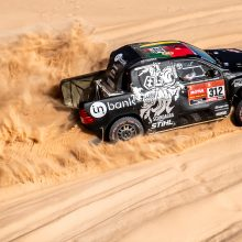 Dakaras: su lyderiais startavęs B. Vanagas parodė tikrąjį greitį