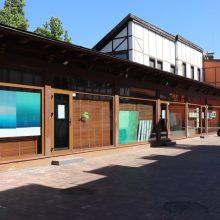 Uostamiesčio Meno kieme veikia keturių kūrėjų ekspozicija