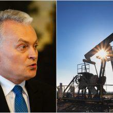 G. Nausėda: Lietuva siūlo Baltarusijai alternatyvas rusiškos naftos importui