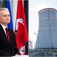 G. Nausėda sieks netradiciškai atkreipti ES lyderių dėmesį į Astravo AE grėsmę: vežasi dovaną