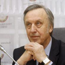 Į Seimą svarstantis grįžti prof. P. Gylys: visada esu korektiškoje opozicijoje