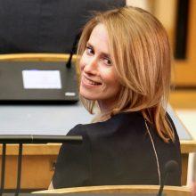 Estijos prezidentė vyriausybę formuoti pavedė K. Kallas