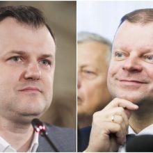 G. Paluckas: valdantieji neturi realios alternatyvos S. Skverneliui premjero poste