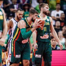 FIBA rinktinių reitinge Lietuva prarado dvi pozicijas