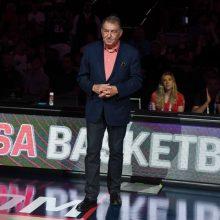 JAV krepšinio vadovas žada nepamiršti atsisakiusiųjų padėti komandai