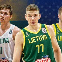 Penki lietuviai, turintys potencialo praverti NBA duris