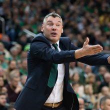 """Š. Jasikevičius apie būsimas rungtynes: """"Crvena Zvezda"""" yra ant bangos"""