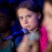 Klimato aktyvistė G. Thunberg pelnė Švedijos žmogaus teisių apdovanojimą