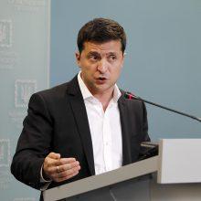 V. Zelenskis siekia užbaigti karą: pasirašė susitarimą su prorusiškais separatistais