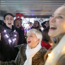 Sostinės viešajame transporte – muzikinė staigmena keleiviams