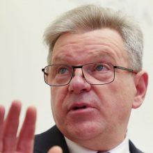VTEK: J. Narkevičius pažeidė įstatymą, pietavęs pavaldžių įstaigų sąskaita