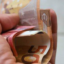 Pernai iš mokesčių į valstybės biudžetą surinkta 8 mlrd. eurų