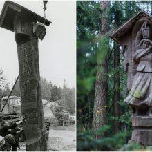 Raganų kalnui – 40 metų: netikėti faktai apie skulptūrų parką Juodkrantėje
