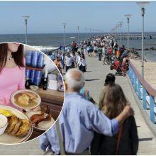 Palanga skaičiuoja vasaros pelną: verslininkai laimingi – poilsiautojų buvo beprotiškai daug