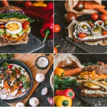Pasaulio virtuvių gatvės maistas – 4 sumuštinių receptai savaitgalio iškylai