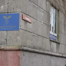 Klaipėdos senamiestyje užsiliko neegzistuojančios politinės partijos simboliai
