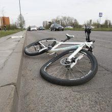 Dėl avarijų Klaipėdoje kaltas karštis?