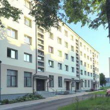 2020 m. Klaipėdoje renovuota daugiausia daugiabučių